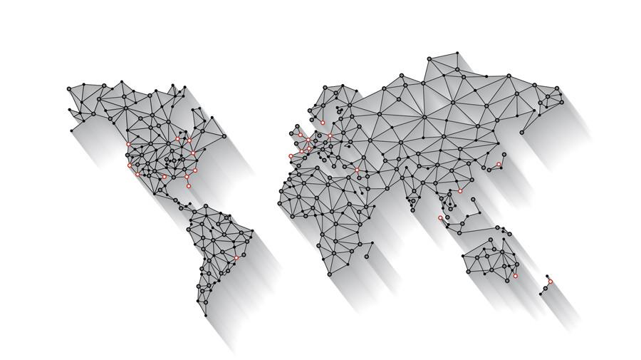 Representación de la red CDN de SiteLock