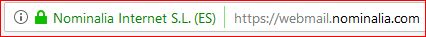URL segura Webmail