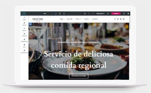 Simply Site te permite crear webs fácilmente