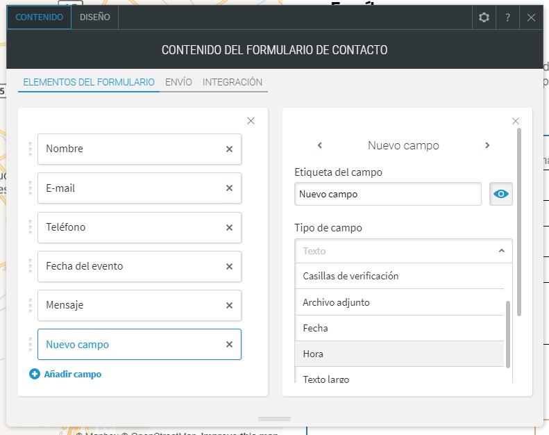Cómo personalizar un formulario en Simply Site