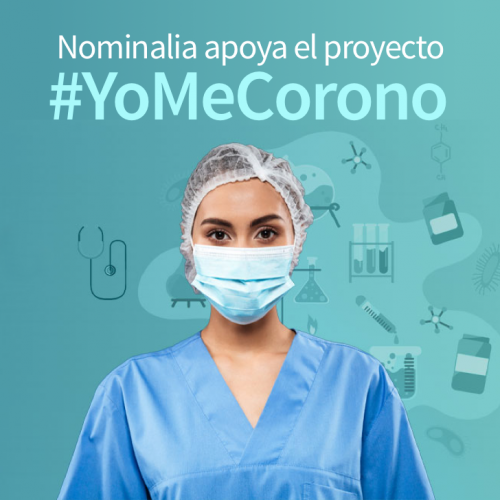 Nominalia apoya el proyecto #YoMeCorono